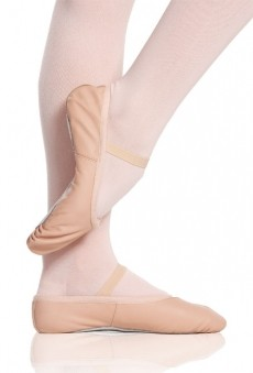 Leather Ballet Shoes