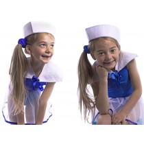 Sailor Collar With Blue Ribbon
