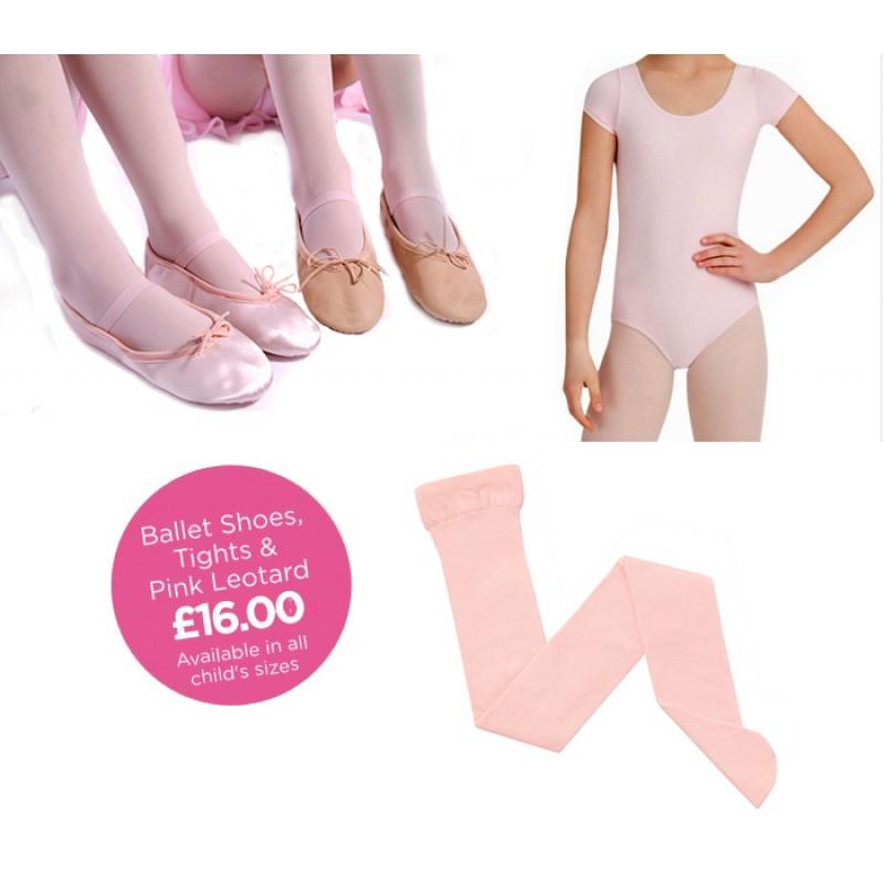 d0d7f6ae4 ... Seamless Ballet tights; Short sleeved Ballet leotard; Dancingwear  Starter Pack