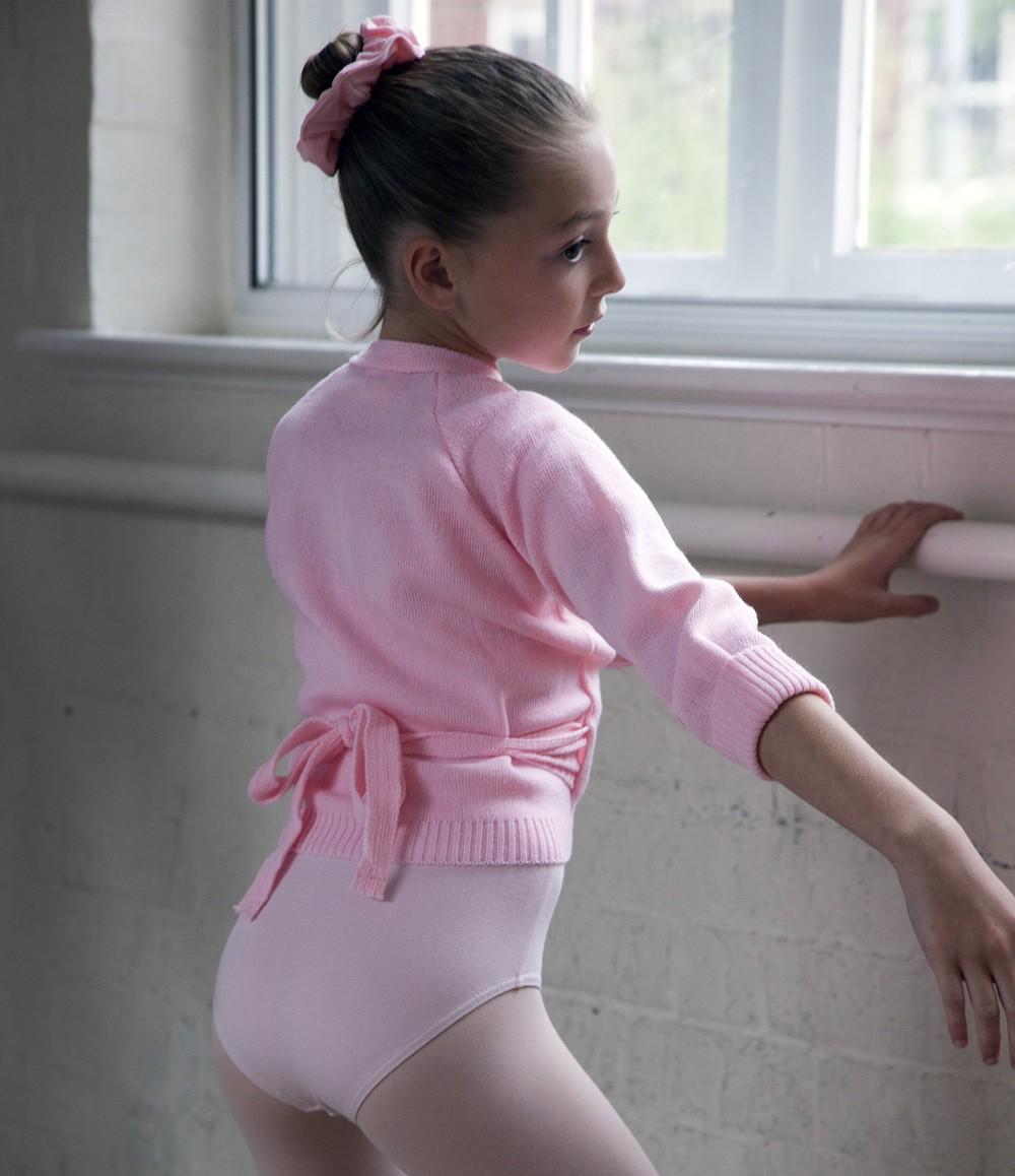 Dancers wrapover cardigan