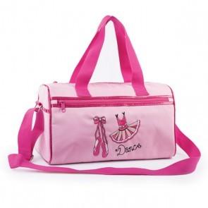 Pink TUTU motif Barrel Bag
