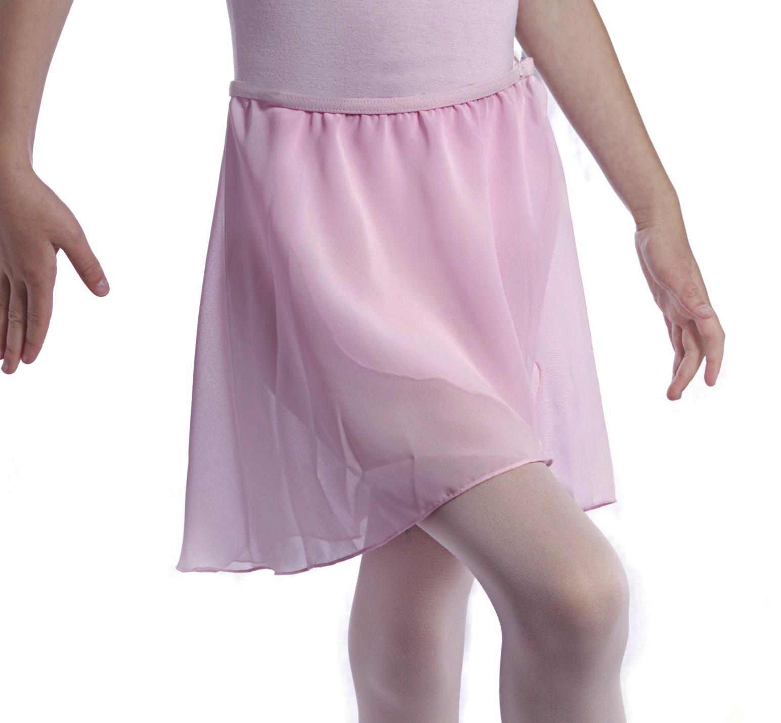 proVora Tulip Wrap Ballet Skirt in Pink. RAD