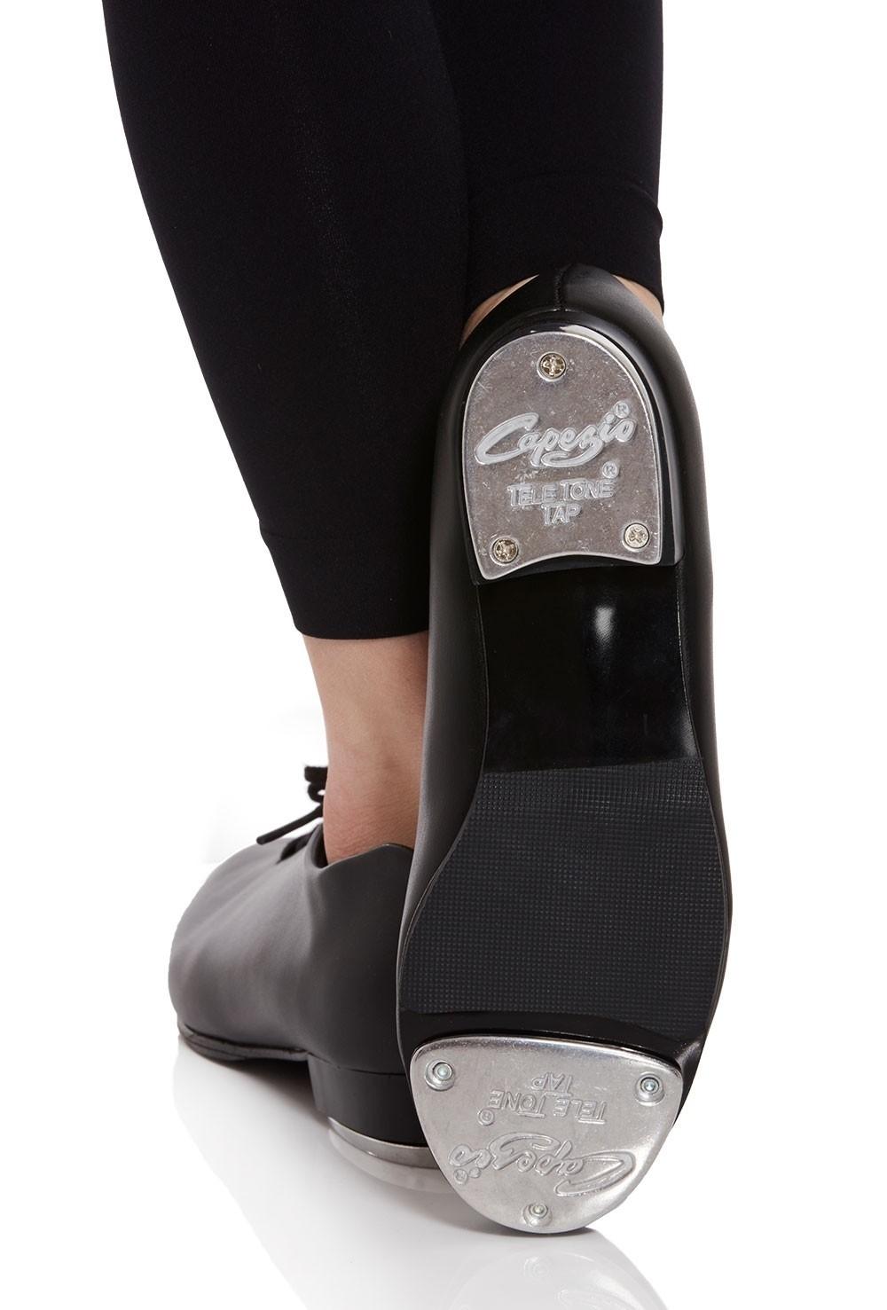 Black Capezio Tic Tap Toe Tap Shoe Tap Shoe Size 8