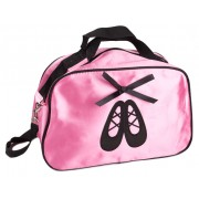 Pink Satin Ballet Shoes Bag
