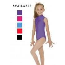 High Neck Leotard, Sleeveless