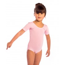 proVora Pink Short Sleeved Dance Leotard- RAD
