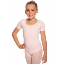 Girls Pink Ballet Leotard