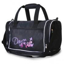 Black, Pink & Lilac 'DANCE' Holdall