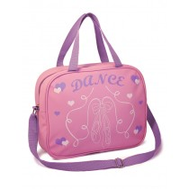 Pink & Lilac Soft Ballet Shoes Bag