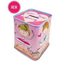 Ballerina Pink Money Box