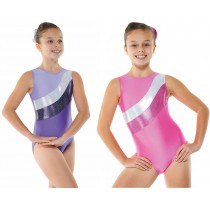 Sleeveless Lycra Sparkle Gym Leotard