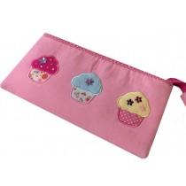 Pink Cupcake Pencil Case