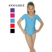Short sleeved Lycra Leotard. Various Colours