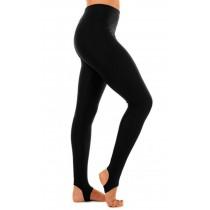 Nylon/ Lycra Black Stirrup Leggings