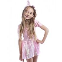 Pink Shimmery Dance Skirt