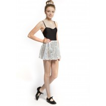 Silver Sparkle 'Ocean Wave' Skirt