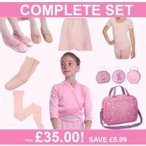 Premier Children's Ballet Starter Pack Including Bag