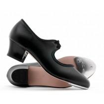 Cuban Heel Synthetic  Leather (PU) Tap Shoe