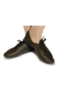 Jazz Shoes Black with full sole