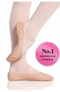 Leather Ballet Shoes, Pink by ProVora/Plume