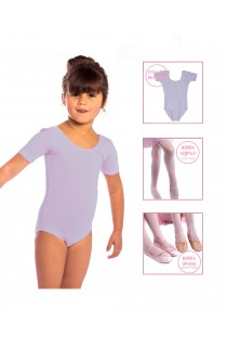Ballet Starter Pack, in LILAC with Ballet Shoes, Leotard and Tights
