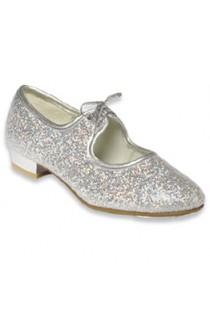 Silver Sparkle Tap Shoes