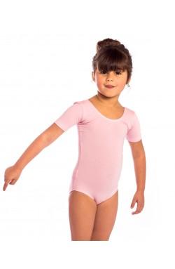 proVora Pink Short Sleeved Dance Leotard- RAD