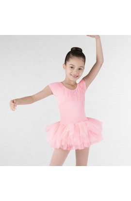 Pink Heart Back Frill TUTU Dress