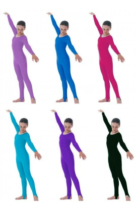 Long Sleeve Catsuit Nylon/Lycra