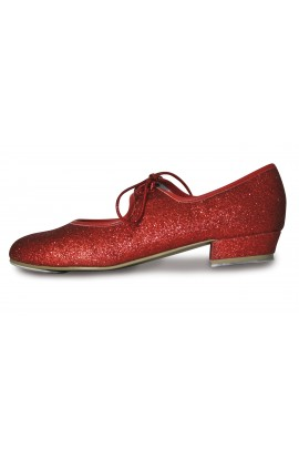 Red Glitter Tap Shoes