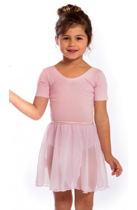 proVora Tulip Wrap Ballet Skirt in Pink. RAD