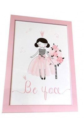A4 Ballet Framed Prints- Be You