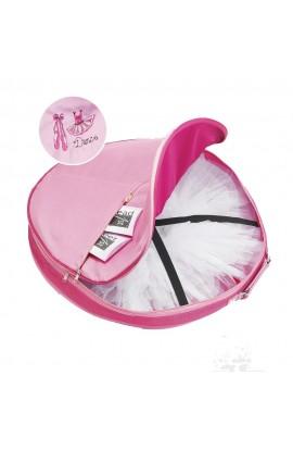 "Pink Ballet Shoes Tutu Bag 32"""