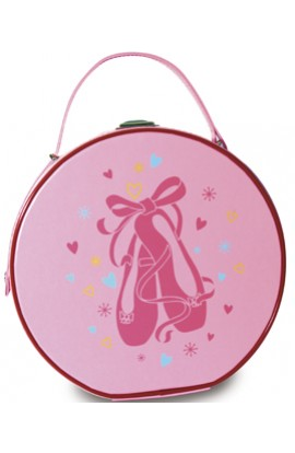 Ballet Shoes Hard Vanity Case