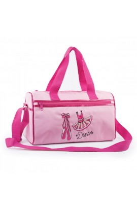 Pink TUTU motif Barrel Bag