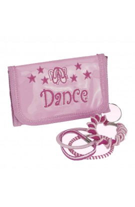 Pink Dance Purse Keyring