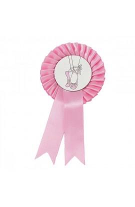Pink Ballet Shoe Rosette