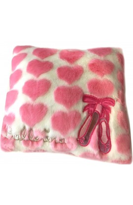 Fluffy Ballet Shoes Cushion