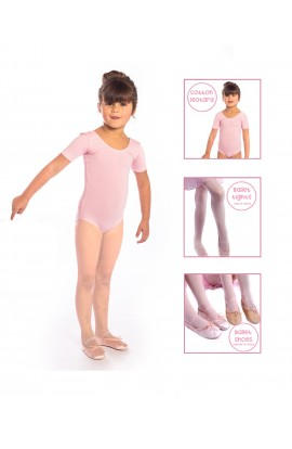 Ballet Starter Pack, with Ballet Shoes, Leotard and Tights