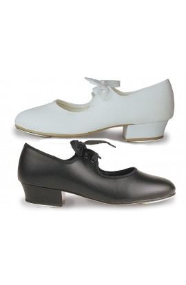 Tap Shoes Low Heel with Heel & Toe Taps