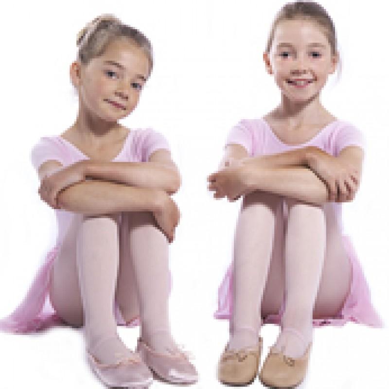 Pink satin Provora ballet shoes