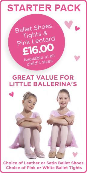 Ballet starter pack, learning ballet for children